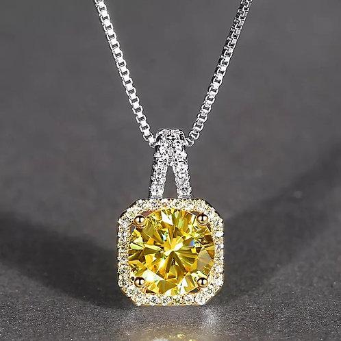 Champagne Pendant Necklace