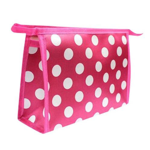 Hot Pink Makeup/Toiletry Bag