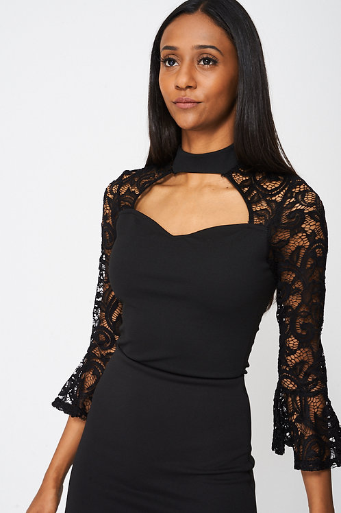 Lace Detail Bodysuit