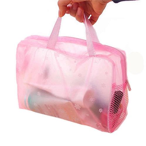 Pink Toiletry Storage Bag