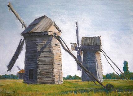 мельныцы прикарпатье ветер свобода картина масло живопись пастель