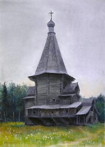 Русский север. георгиевская церковь.jpg