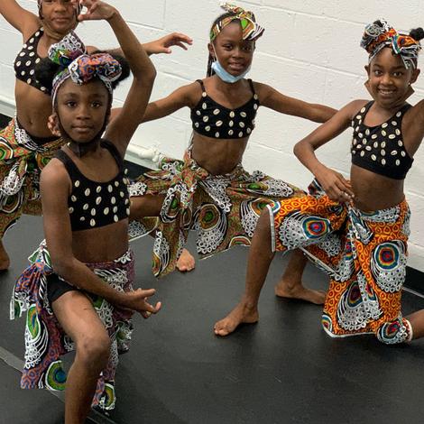 Reimagine Festival youth dancers