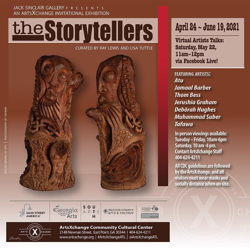 the storytellers: artist talks