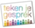 Logo Teken je gesprek