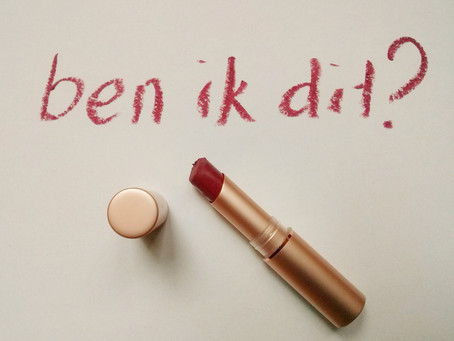 Lippenstift en serieus genomen worden
