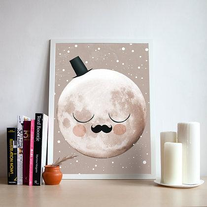 постер mr. Moon