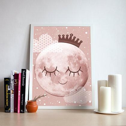 постер mrs. Moon