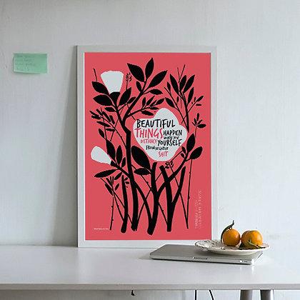 постер на стену Positive
