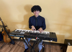 Stefano on piano