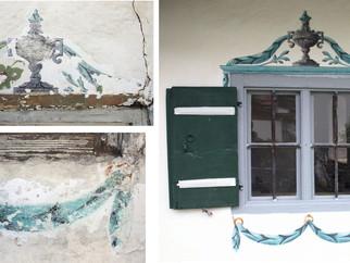 Rekonstruktion von Malereien auf Basis angelegter Sondagen