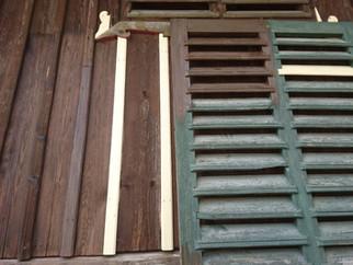 Farbig Einstimmung und Rekonstruktion von Holzoberflächen