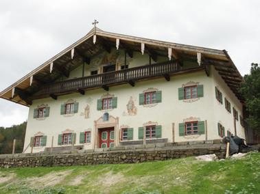 Rekonstruktion von Fassadenfassungen