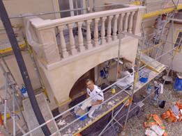 Kalkputzarbeiten für Freskalanstrich