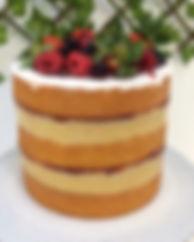 Naked Cake _Massa amanteigada de baunilh