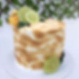 Bolo de limão com merengue suíço maçaric