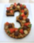 Bolo Brownie de Número ♥️_Cardápio compl
