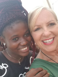 Pastor Rena with Ghanian