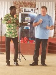 Apostle Joe Preaching