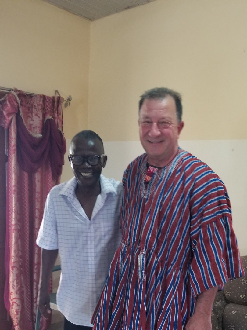 Apostle Joe in new tunic