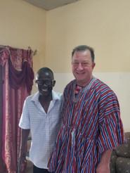 Apostle Joe in new tunic