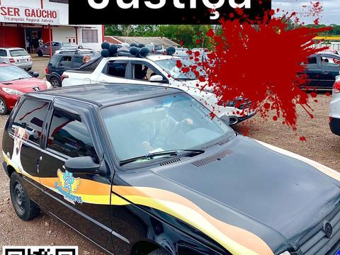 ONG SALVADORES participa de carreata da JUSTIÇA, em Teutônia/RS