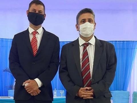 ONG SALVADORES parabeniza o Prefeito e vice, eleitos em Taquari/RS