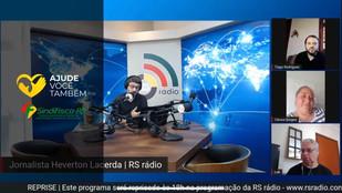 Presidente da ONG Salvadores participa de live promovida pelo Sindifisco RS