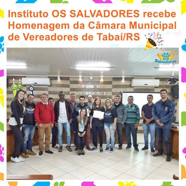 RECONHECIMENTO DA CÂMARA DE TABAÍ/RS