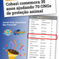 Jornal de SP destaca parceria entre ONG SALVADORES e lojas Cobasi