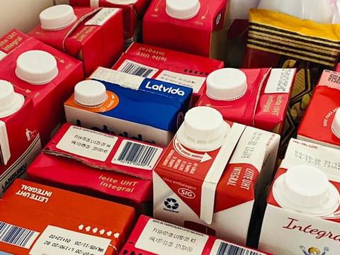 ONG de Proteção Animal arrecada mais de 25 litros de leite para crianças