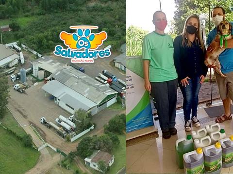 RodoQuímica contribuirá com a limpeza de lares temporários de animais resgatados de maus-tratos
