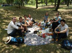 Picnic at Botanical Garden of Medell