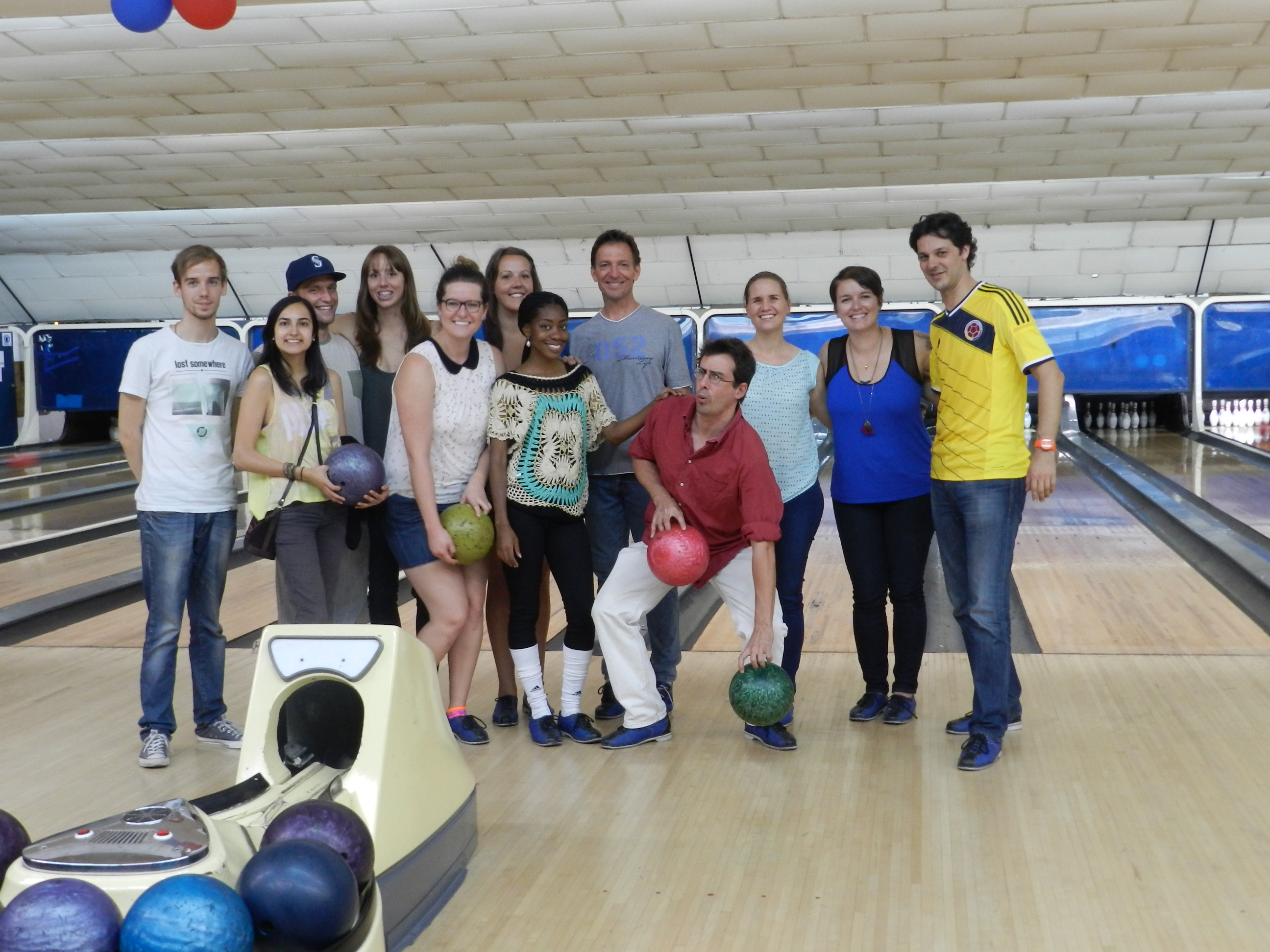 Bowling party!