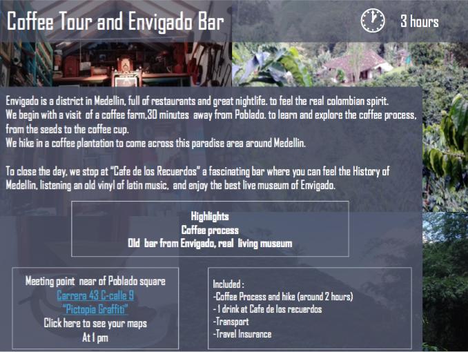 Coffee Tour & Envigado Bar