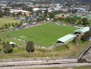 THE MAGIC OF CUP FOOTBALL COMES TO AUSTRALIA
