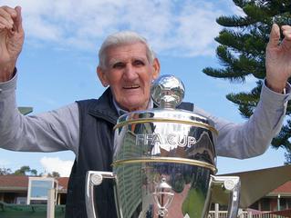 Marston celebrates his milestone with new FFA Cup