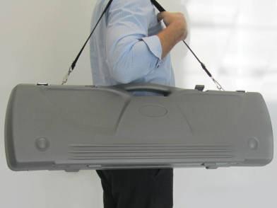 Hard Plastic Banner Stand Case
