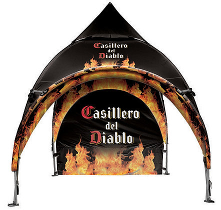 10' x 10' Arched Canopy and Frame