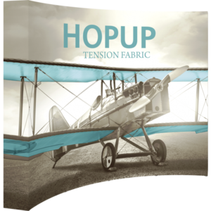 Hopup Curved Tension Fabric Display
