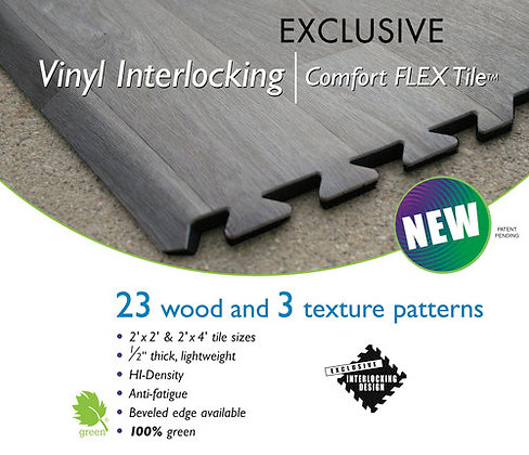 Vinyl Interlocking Flooring