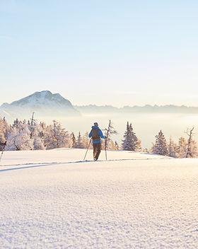Winterwandern in Mieming Pension Seelos
