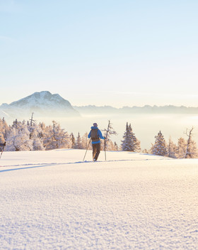 Winterwandern in Mieming Pension Seelos
