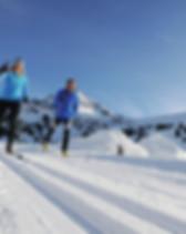 Langlauf Pension Seelos Winter Mieming