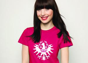 Tiroler Madl T-Shirt Tyrolean Rebel