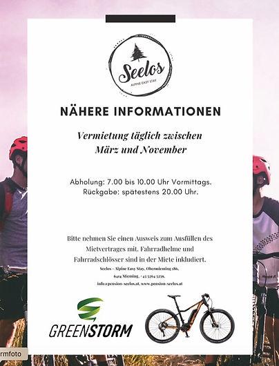 E-Bike Verleih Mieming Seelos