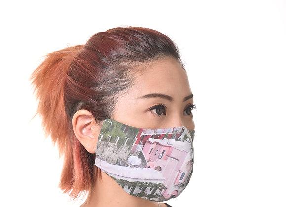 Design Mask_Positano Print