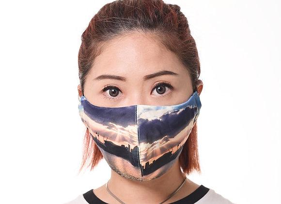 Design Mask_London Print