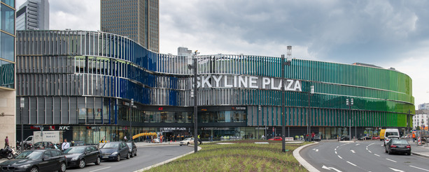 Skyline Plaza we Frankfurcie – Niemcy