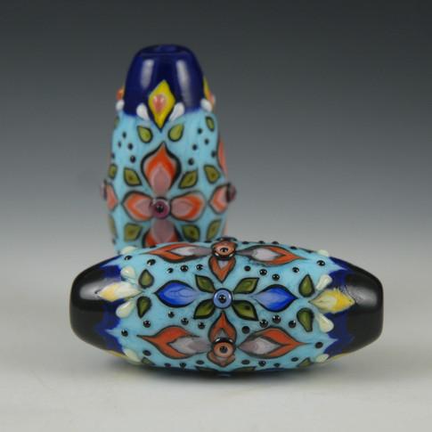 Folk Art Bead Grouping 1